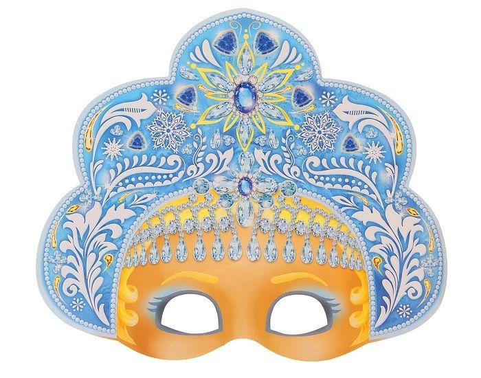 Новогодняя маска для детей