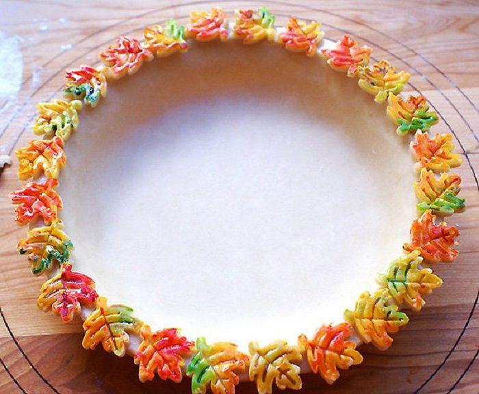 Край пирога фото