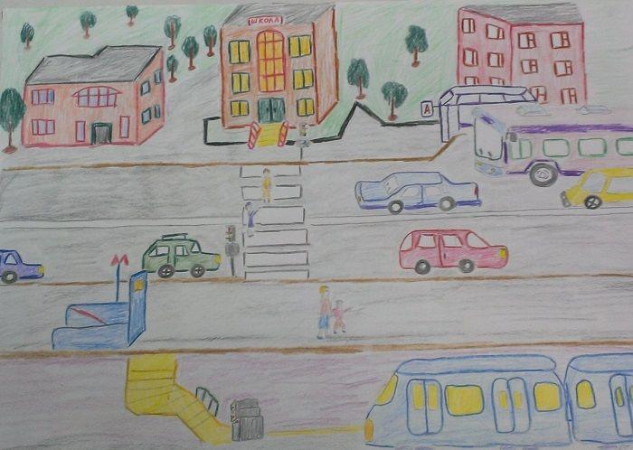 Плакат по теме Моя улица