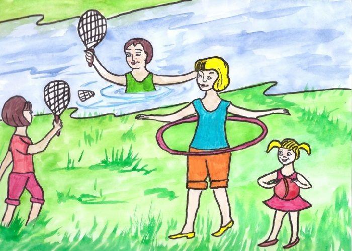 Рисунок крепкая семья