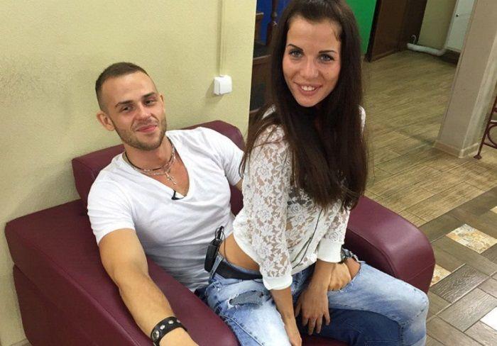 Александра Гозиас и Сергей Худяков фото