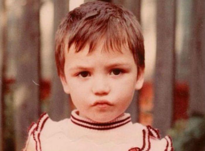 Ольга Серябкина в детстве фото