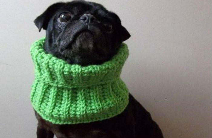 фото шарфа-снуда