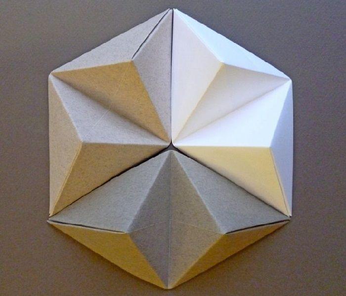 Фигурки из треугольников