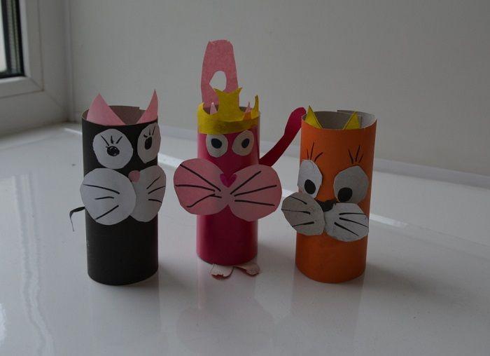 Игрушки из фигур