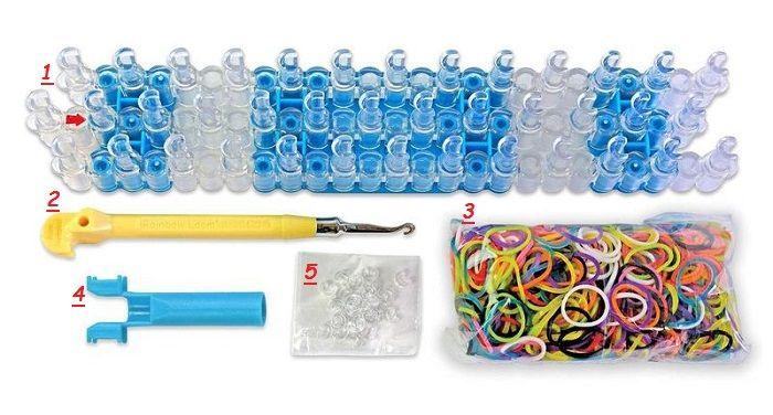 инструменты для плетения резиночками фото