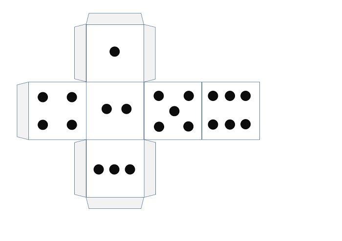 Объемный куб из бумаги