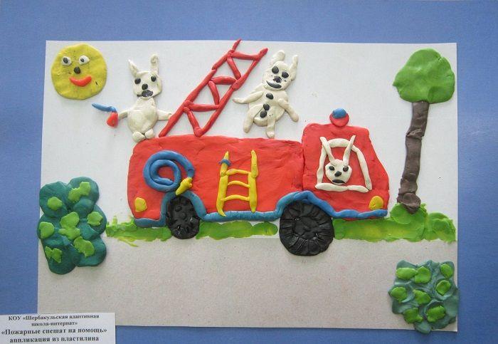 Поделка по пожарной безопасности