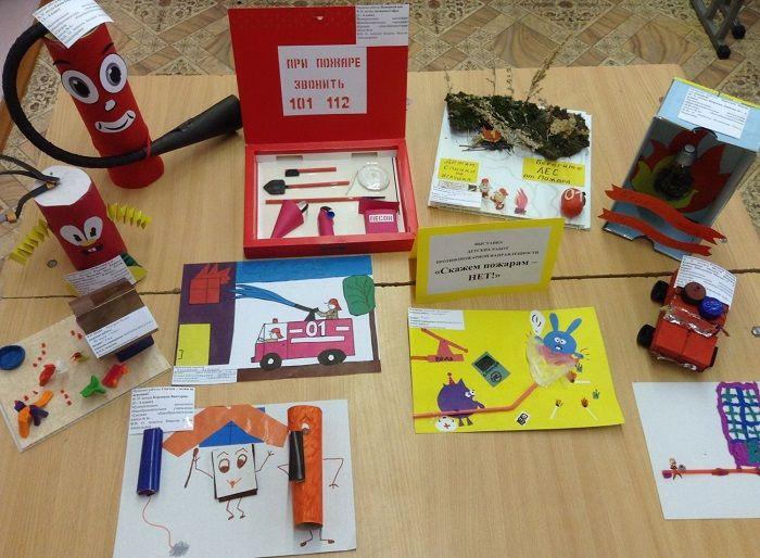 Поделки по пожарной безопасности для детского сада