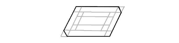 Прямоугольник 3d фото