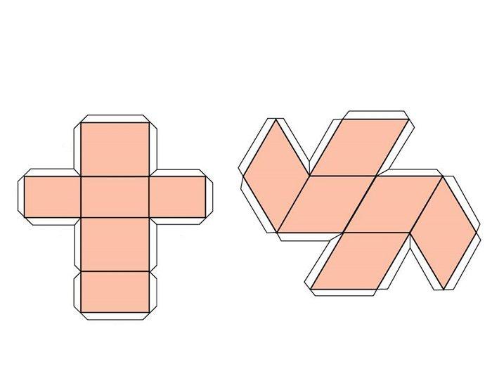 Шаблон параллелограмма