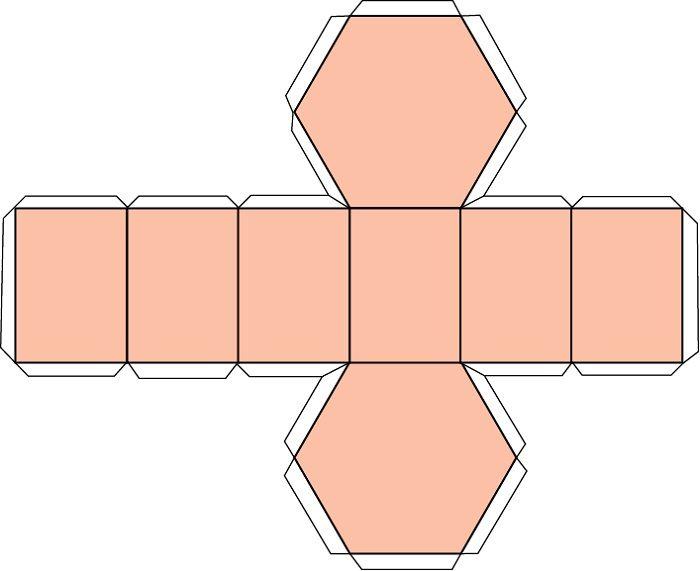 Шаблон шестигранника