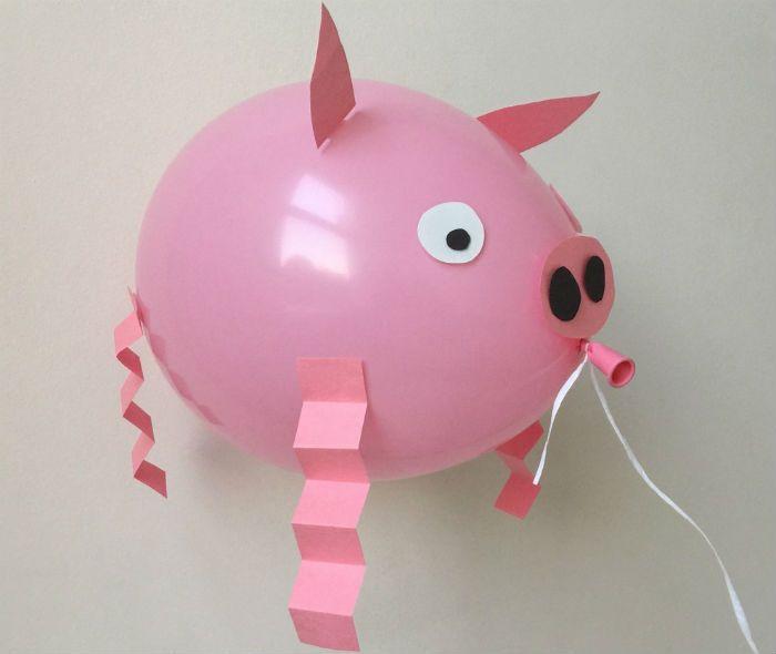 Свинья поделки фото