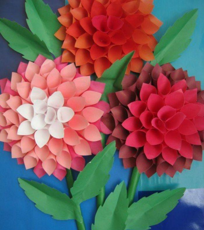 Цветы из кулечков фото