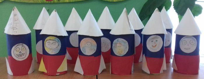Ракета в детском саду фото