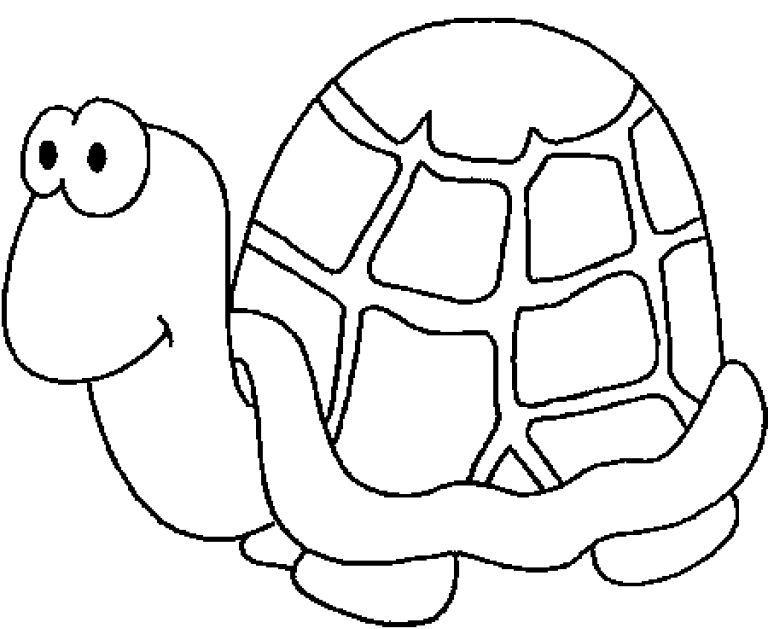 Аппликация черепаха раскраска фото