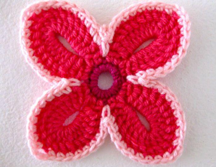 схема 2 гавайский цветок фото