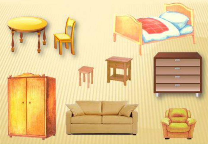 Аппликация мебель фото