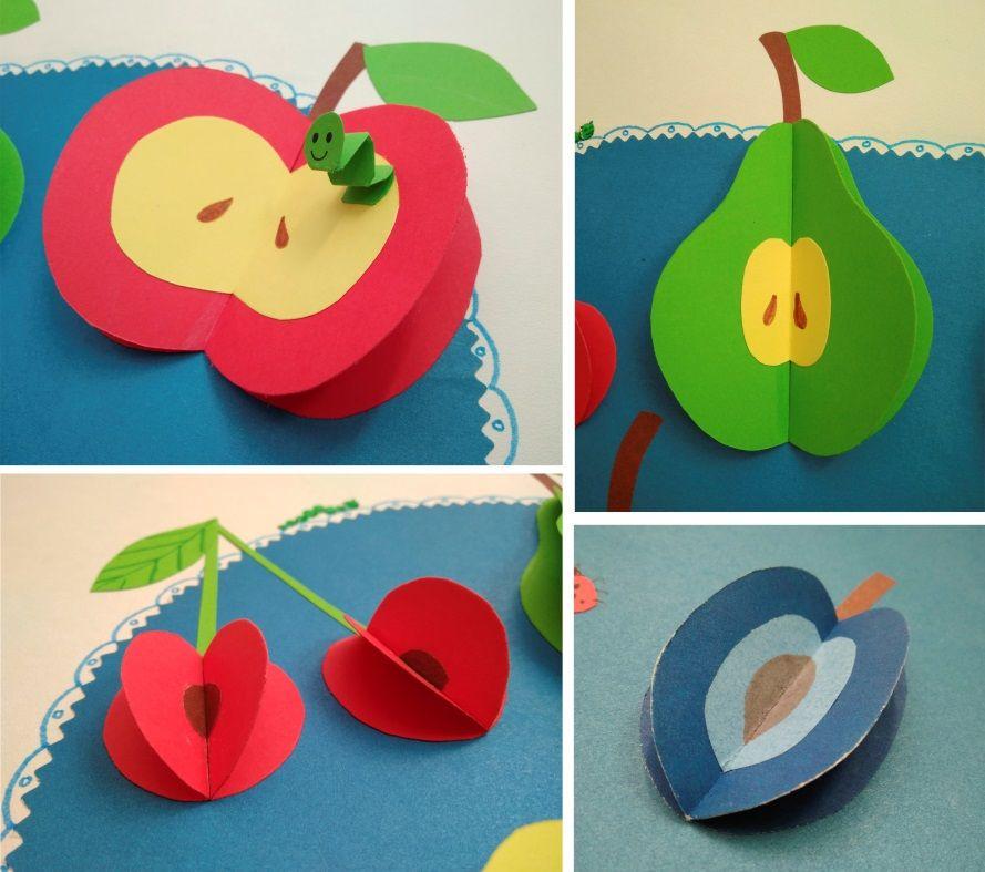 Аппликация фрукты фото