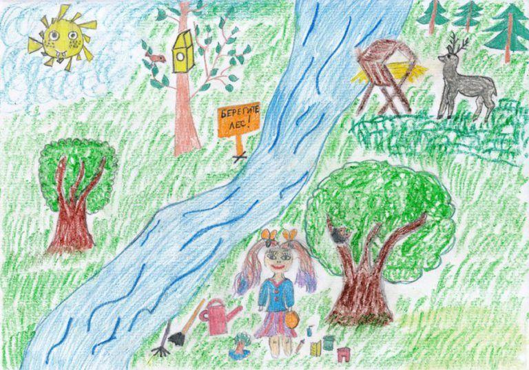Юный эколог рисунок фото