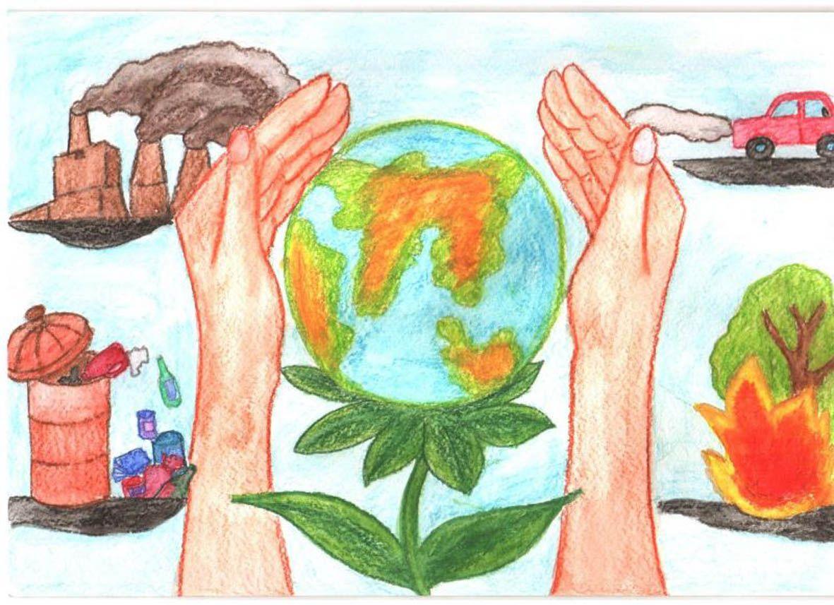 Защита  и охрана природы рисунок 3 фото