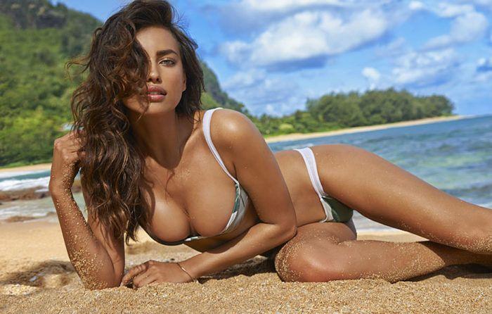 Самая красивая натуральная грудь Ирина Шейк