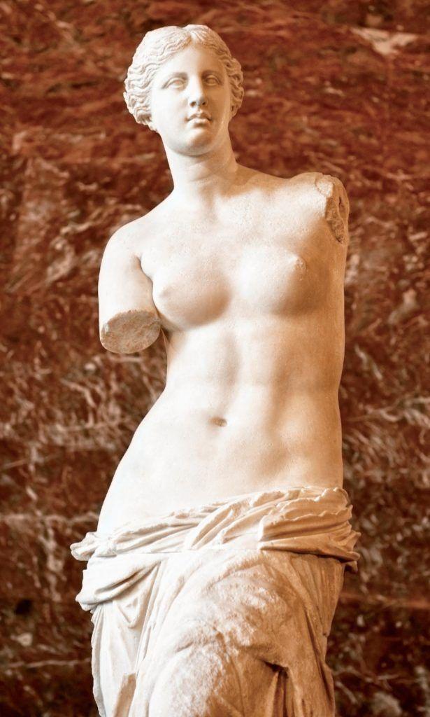Самая красивая натуральная грудь античность