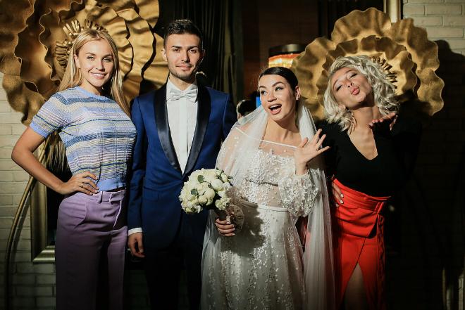 Свадьба Иды Галич и Алана Басиева