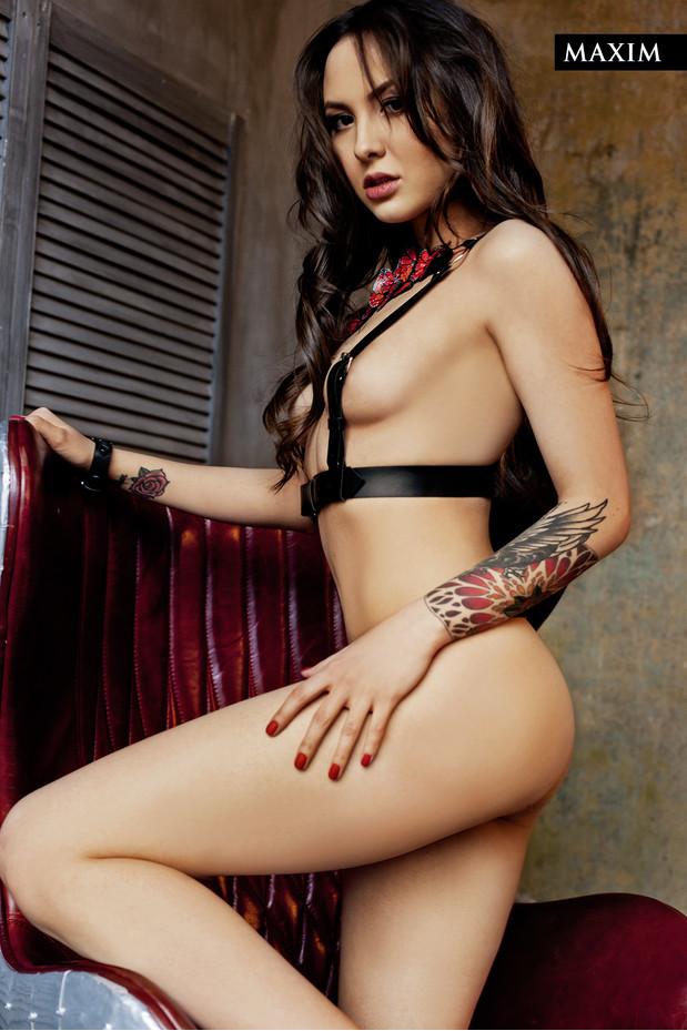Мария Ермолина Фотосессия в Maxim