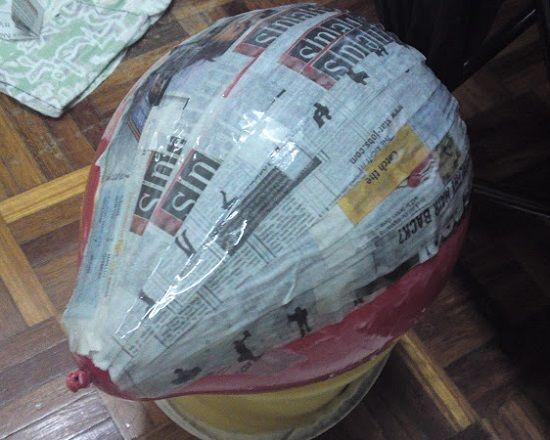 Использование воздушного шара фото