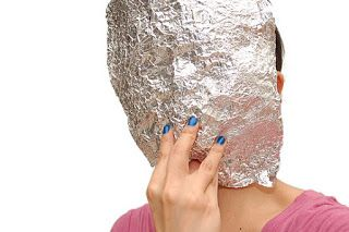 Формируем основу для маски из фольги фото