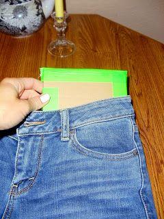 Подкладываем фанерку под ткань фото