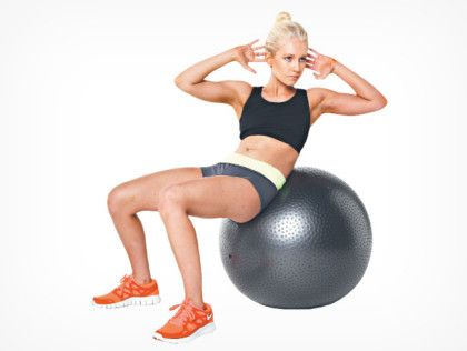 Упражнение на укрепление боковых мышц пресса фото