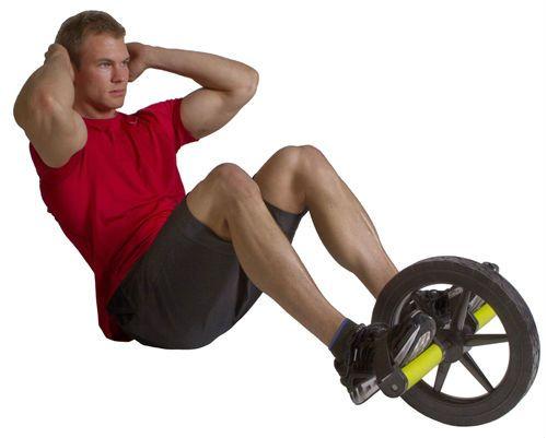 Подъем корпуса в положении сидя упражнение с роликом фото