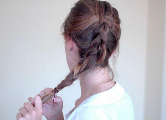 Датская коса фото
