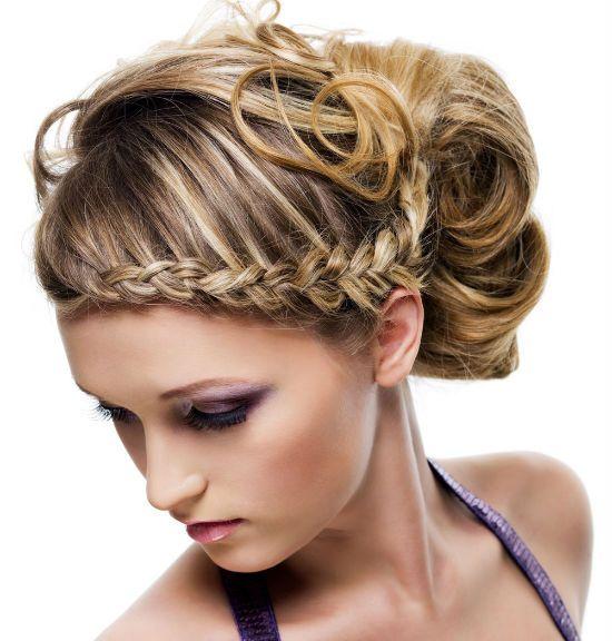 Греческая коса фото