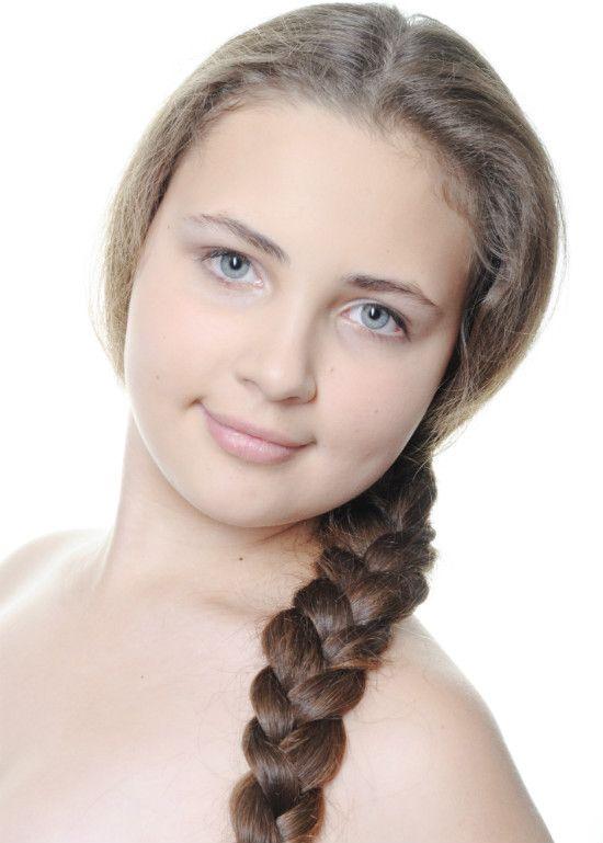 Русская коса фото