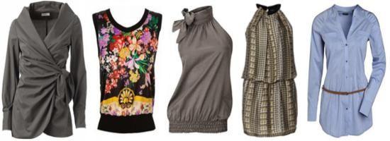 Блузы, кофты, топы для женщин с типом фигуры прямоугольник фото
