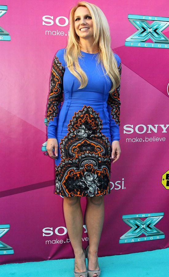 Американская поп-певицы Бритни Спирс фигура яблоко фото