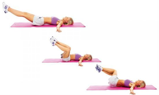 упражнение наклоны ногами в стороны фото