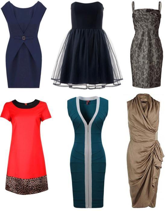 Платья для женщин с типом фигуры песочные часы фото