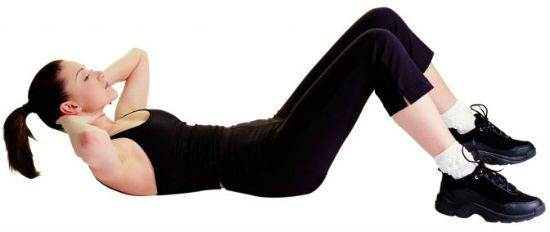 упражнение подъем корпуса фото