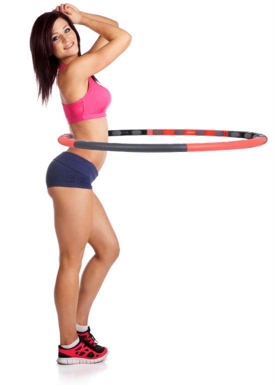 упражнение с обручем фото