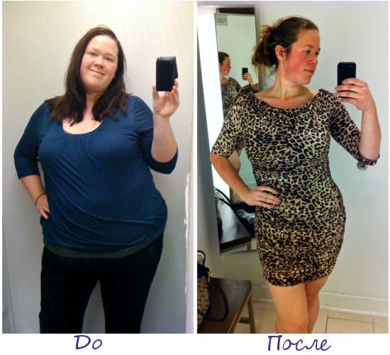 Джулия Козерски, Милуоки (США) фото до и после похудения