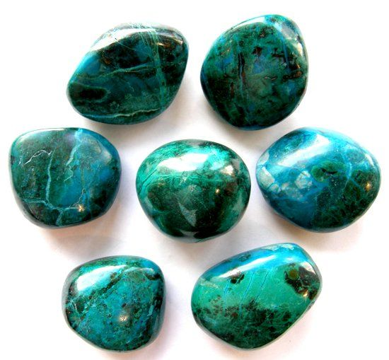 Фотография камня хризоколла