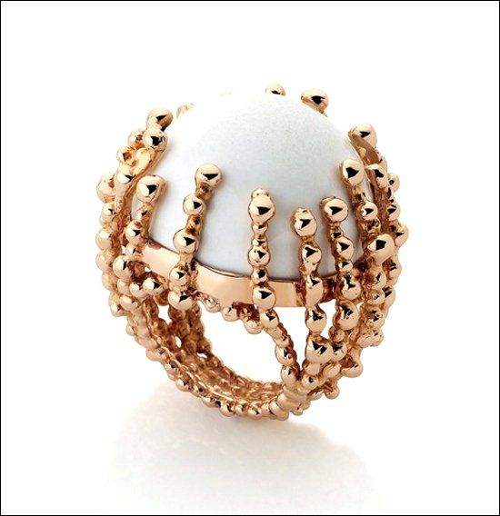 Кольцо с кахолонгом фото