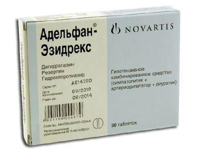 Препарат Адельфан-Эзидрекс