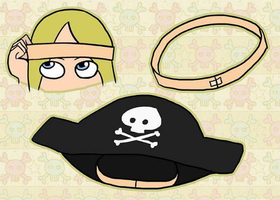 Костюм пирата шаг 10