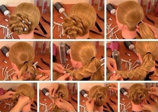 Красивые косы вариант 3