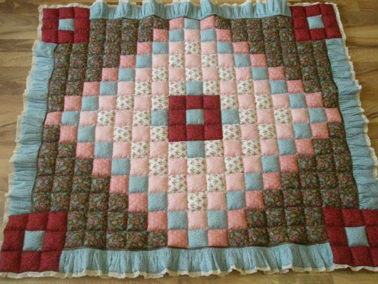 Лоскутное одеяло идея 1